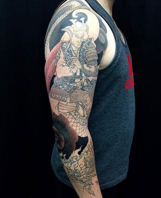clareketontattoos_wip_tattoo_sleeve_shading_oriental