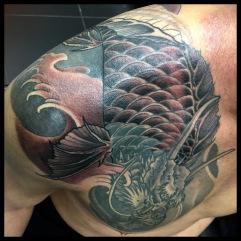 Work in Progress - Dragon Shoulder_Chest