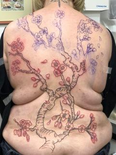 Cherry Blossom (Sakura) Work In Progress