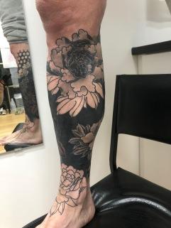 Work in Progress- Cover Up Leg