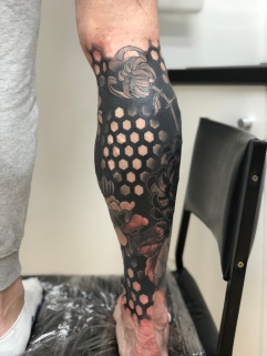 Work in Progress - Cover Up Leg Right
