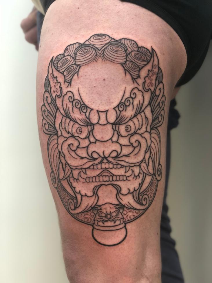 Work in Progress - Temple Lion