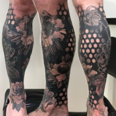 Chrysanthemum/Peony cover up